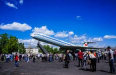 Открытие памятника ИЛ-62 в Шереметьево
